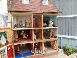 Vintage dolls house hand made edwardian style