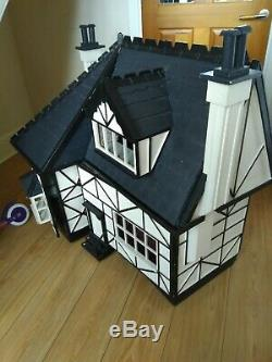 Vintage hand made dolls house, this is a one off