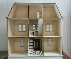 Vivian Mansion 112 scale Dollhouse Kit