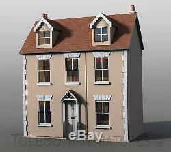 Willow Cottage Dolls House 112 Scale Unpainted Collectable Dolls House Kit
