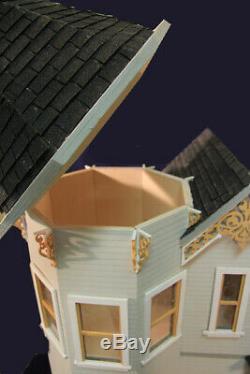 Wisteria Way 1 Inch Scale Dollhouse Kit Laser Cut