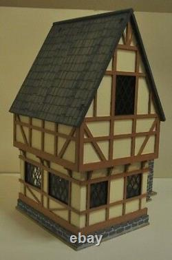 Wooden made-to-order Tudor Dolls House