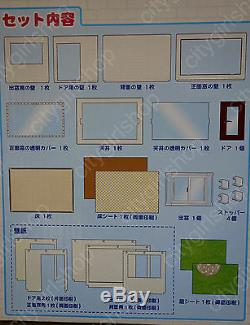 Wow! Rare Re-ment House Rement Puchi Housing New Nrfb